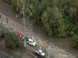 Rescuer Washed Away By Strong Current In Los Angeles River