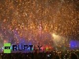 Russia: See Moscow's Dazzling 'Circle Of Light' Fest Open