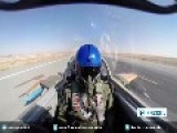 Raw Footage: Iran's Supersonic Fighter Jet, Saeqeh 2 Thunderbolt 2