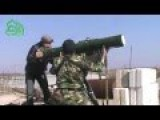 Rebel Tank Busters ATGM In Action: Destroyed SAA Tank In Tal Al Hasr, Daraa Rif