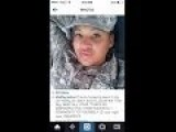 STUPID SELFIE! Soldier Posts Pic Of Herself Avoiding Flag Salute, Ignites Online FIRESTORM!!