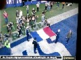Somebody Yells ISIS Sucks , Followed By Another Yelling Bomb Britain At NFL Game's Moment Of Silence For France