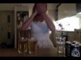 Swedish Woman Drinks 4 Pints Of Beer In 25 Seconds
