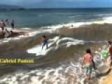 Surfer Brah's Engineer Their Own River Tsunami. Go Boarding