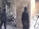 Syrian Sunni Arab Citizen Soldiers Battle Iraqi Shiite Terrorists Inside The Court Building: Old Aleppo