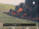 Spain Tyre Dump Blaze Sends Black Smoke Sky High