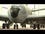 Six KC-135 Stratotankers Mass Launch