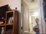 Sister Scares Little Brother To Tears