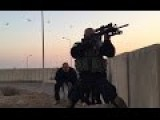 Shia Paramilitary In Combat With ISIS | Rare Raw Combat Footage