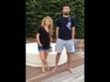Shakira And Pique Ice Bucket Challenge