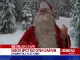 Santa Claus Spotted In Australia
