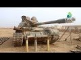 SYRIAN T-55 TANK AND OTHER WEAPONS CAPTURED