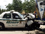 Sheriff's Deputy Rear-Ends City Bus Aftermath Vid & Pics