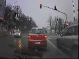 Stolen Car Caught On Dashcam In Prague, Czech Republic