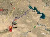 Shingal Map - Kurdish Foces Defeats Islamic State