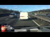 Shocking Video Shows White Van Man REFUSING To Pull Over To Let An Ambulance Pass Him On The Motorway