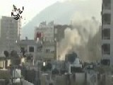 Syria Dictator Assad Army Tries To Break Into Barzeh Neigborhood Of Damascus