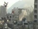Syria Dictator Assad Army Tries To Break Into Barzeh Neigborhood Of Damascus