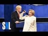 SNL Clinton Trump Debate: 'Watch Trump TV Starting Nov 9th!'