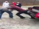 Skilled Guy Wins Fight And Kicks Downed Opponent In The Head- INSTANT KARMA ENDING