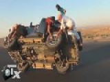 Saudi Boys Removing 2 Wheels While Driving On Two