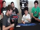 Seven-Year-Old Boy Solves Rubik's Cube In 27 Seconds With One Hand