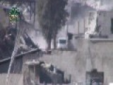 Syria - IF Sniper Hits Truck 08 03