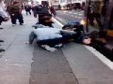 Schoolgirl Trapped Under Dublin Luas