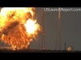 SpaceX Falcon 9 Rocket Explosion