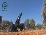 Syrian Sunni Arab Citizen Soldiers Bring An Assad Regime Facility Under Fire With A Hell Cannon 1: Al-Qadisiyah