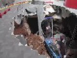 Sinkhole Swallows 8 Corvettes At National Corvette Museum In Kentucky