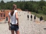 SEXY KIRSTI ROCKIN' THE WILSON COMBAT - HD