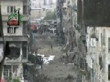 Syria - Chicken Running In Darayya Streets 10 04