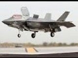 Sound Of US Air Force F-35 Stealth Aircraft VTOL Landing
