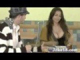 Sexy Girl In Cafeteria Prank TV