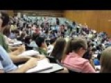 Student Pretends To Be The Professor On First Day Of Class And Fools Everyone