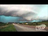 Storm Chaser Captures Incredible Storm Scene With Big Lightning Strike