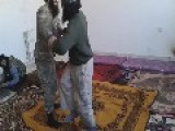Syria - Jihadists Wrestling 1v1, While The Others Prepares Weapons