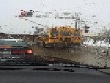 School Bus Inches From Disaster This Morning