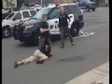 Shocking New Video Shows Sacramento Cop Stomps Man's Head Into Street!