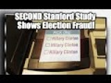 "Stanford Study: ""As Such, As A Whole, The Data Suggests That Election Fraud Has Occurred In The 2016 Democratic Party Presidential"