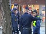 Shootout With Plain Clothes Police Officers In Södertälje, Sweden