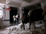 Syria - Aleppo Carlton Hotel Bombing - Pre-work And Different Angle 07 05