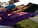 School Girls Fight In Chile