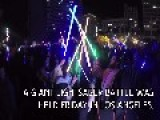 Star Wars Fans Stage A Giant Lightsaber Battle