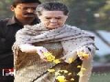 Sonia Gandhi In Shakti Sthal, Pays Tribute To Indira Gandhi Death Anniversary