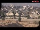 Syria - Footage Of Intense Shelling In Jobar, Damascus With Syrian Soldiers !