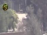 Syria - FSA Sniper Hits NDF Militiaman 01 12