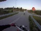 Stand Up Wheelie Crash