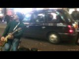 Street Guitarist Has The Most Enthusiastic And Amazing Back-Up Dancer